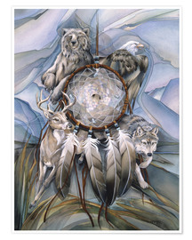 Premium poster  Dream catcher - Jody Bergsma