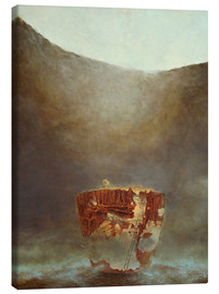 Canvas print  The often conceived hesitation - Stefan Bleyl