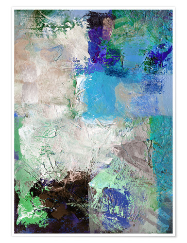 Premium poster Abstract No 15
