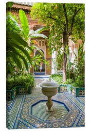 Canvas print  Bahia Palace in Marrakech - Nico Tondini