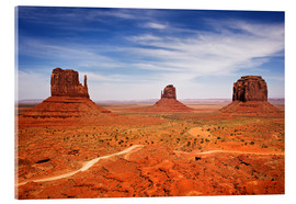 Acrylic print  View of Monument Valley - Petr Bednarik