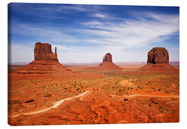 Canvas print  View of Monument Valley - Petr Bednarik