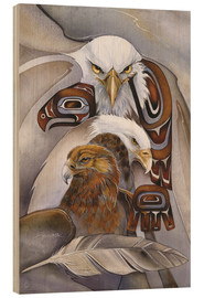 Wood  Eagle spirit - Jody Bergsma