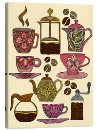 Canvas print  Have some coffee - Valentina Ramos