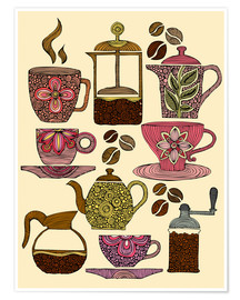 Poster  Have some coffee - Valentina Ramos