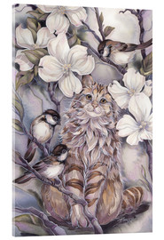 Acrylic print  Cats me if you can - Jody Bergsma