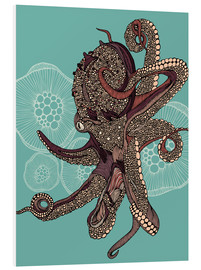 Foam board print  Octopus Bloom - Valentina Ramos