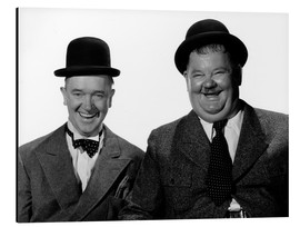 Alu-Dibond  Laurel and Hardy: Nothing but trouble