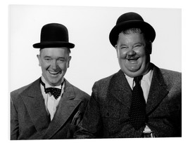 Foam board print  Laurel and Hardy: Nothing but trouble