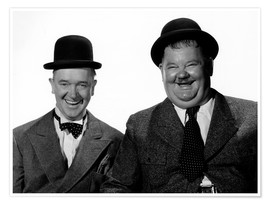 Premium poster  Laurel and Hardy: Nothing but trouble