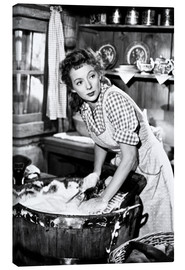 Canvas print  MRS. MIKE, Evelyn Keyes
