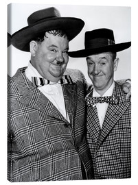 Canvas print  JITTERBUGS, Oliver Hardy, Stan Laurel