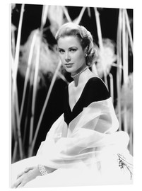 Forex  Grace Kelly with a tulle shawl