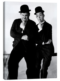 Canvas print  LIBERTY, Oliver Hardy, Stan Laurel