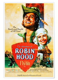 Premium poster The Adventures of Robin Hood