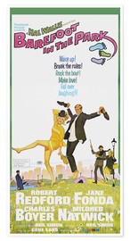 Premium poster BAREFOOT IN THE PARK