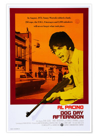 Premium poster DOG DAY AFTERNOON, Al Pacino