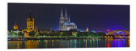 Forex  Cologne Skyline @ night - Fine Art Images