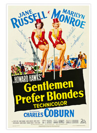 GENTLEMEN PREFER BLONDES, Jane Russell, Marilyn Monroe