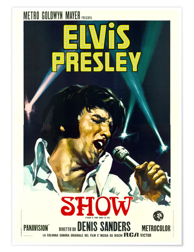 Premium poster Elvis: That's the way it is