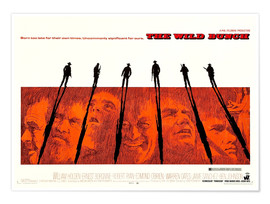 Premium poster The Wild Bunch - They knew no law