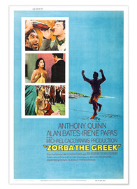 Premium poster ZORBA THE GREEK