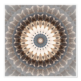 Premium poster Mandala easiness