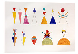Wassily Kandinsky - Pictures at an Exhibition, numbers