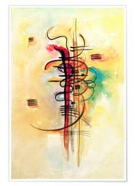 Premium poster  Watercolor no. 326 - Wassily Kandinsky