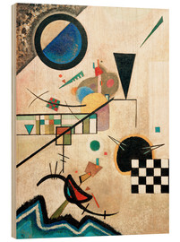 Wood  Contrasting sounds - Wassily Kandinsky