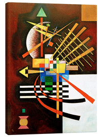 Canvas print  Top and left - Wassily Kandinsky