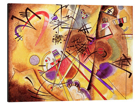 Alu-Dibond  Small dream in red - Wassily Kandinsky