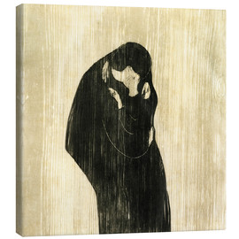 Canvas print  The Kiss IV - Edvard Munch