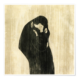 Poster  The Kiss IV - Edvard Munch