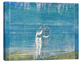 Canvas print  In the Forest I - Edvard Munch
