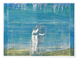 Premium poster  In the Forest I - Edvard Munch
