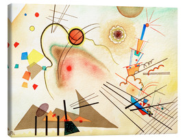 Canvas print  Watercolour No. 606 - Wassily Kandinsky