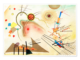 Poster  Watercolour No. 606 - Wassily Kandinsky