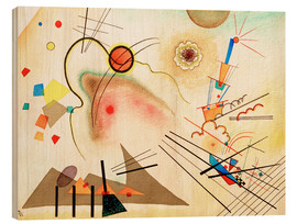 Wood print  Watercolour No. 606 - Wassily Kandinsky
