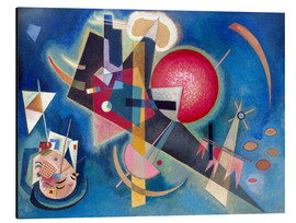 Aluminium print  In the blue - Wassily Kandinsky