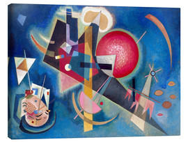 Canvas print  In the blue - Wassily Kandinsky