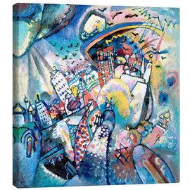 Canvas print  Red square - Wassily Kandinsky