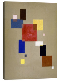 Canvas print  13 Rectangles - Wassily Kandinsky