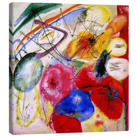 Canvas print  Black Lines - Wassily Kandinsky