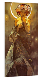 Forex  The moon - decorative - Alfons Mucha