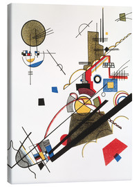 Canvas print  Happy ascent - Wassily Kandinsky
