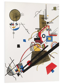 Foam board print  Happy ascent - Wassily Kandinsky