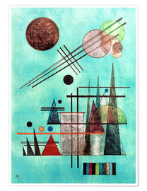 Premium poster  Across and Up - Wassily Kandinsky