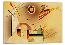 Wood  Reduced Weight - Wassily Kandinsky