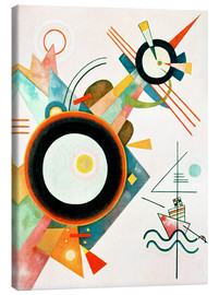 Canvas  Arrowhead Picture - Wassily Kandinsky